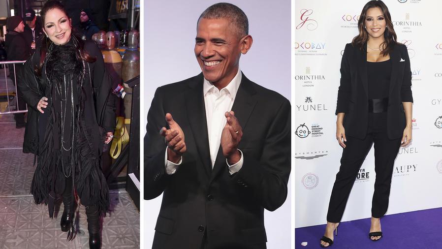 Obama, Gloria Estefan, Eva Longoria