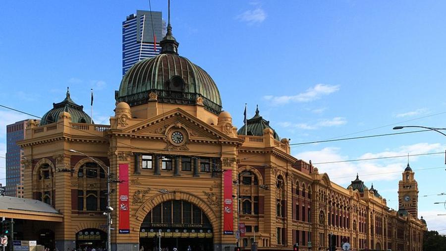 estación de trenes de Flinders Street