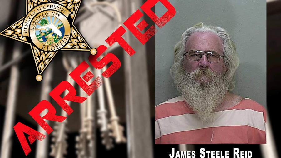 James Steele Reid fue acusado de maltrato animal.