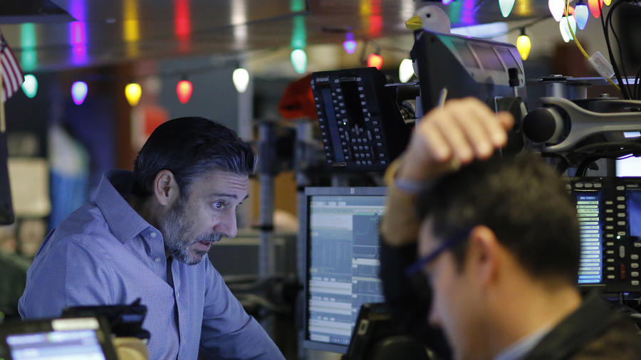 Traders en el mercado de valores de Nueva York, este miércoles.