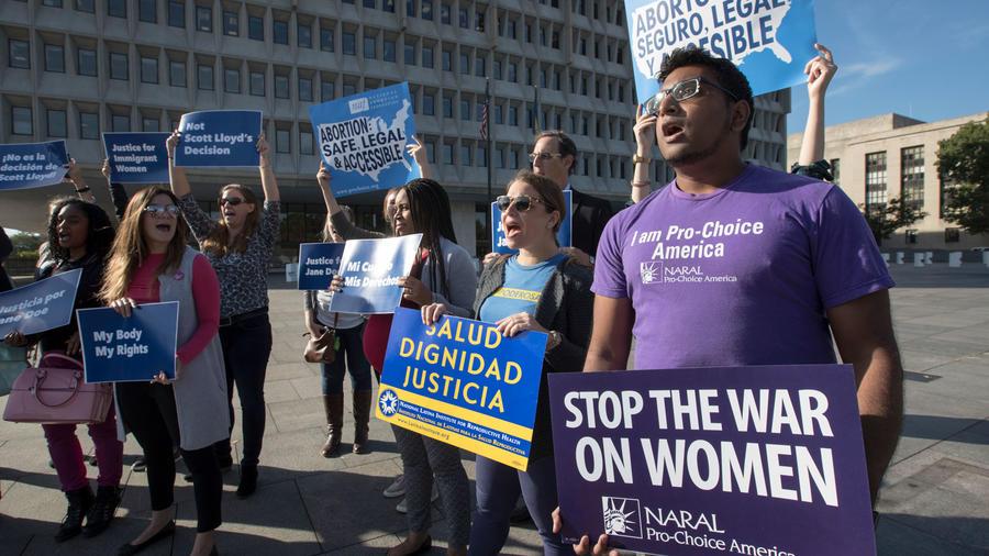 Protestas en clínicas abortivas de Planned Parenthood, en una imagen de archivo