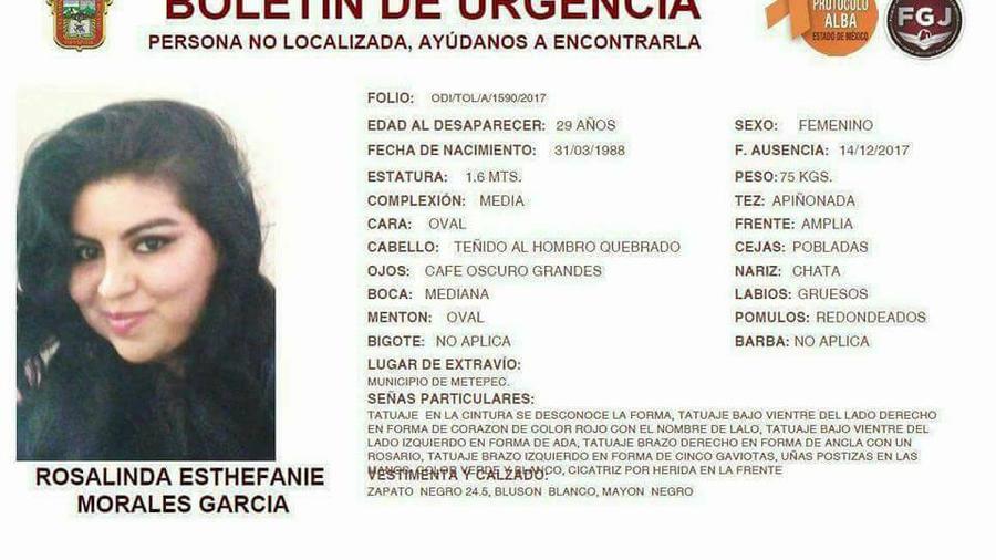 Hallan muerta a joven desaparecida tras subir a taxi en el Estado de México