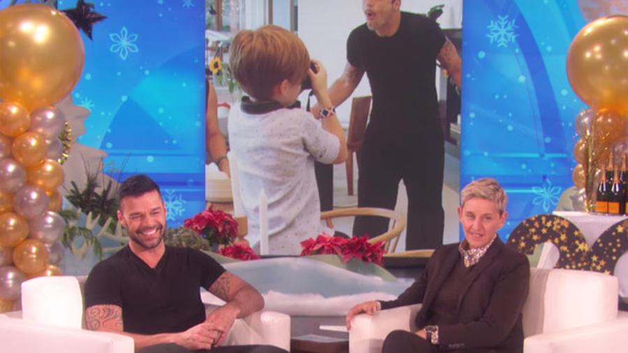 Ricky Martin en Ellen