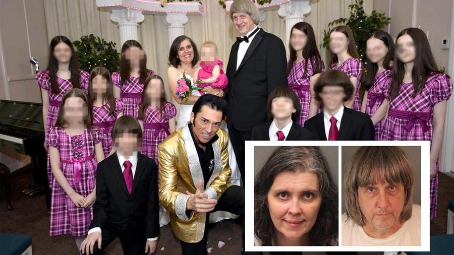Familia Turpin en medio de investigaciones