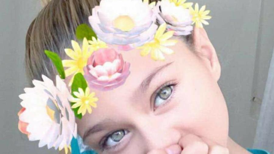 Gabriella Green, en una imagen proporcionada por su madre, Tanya.
