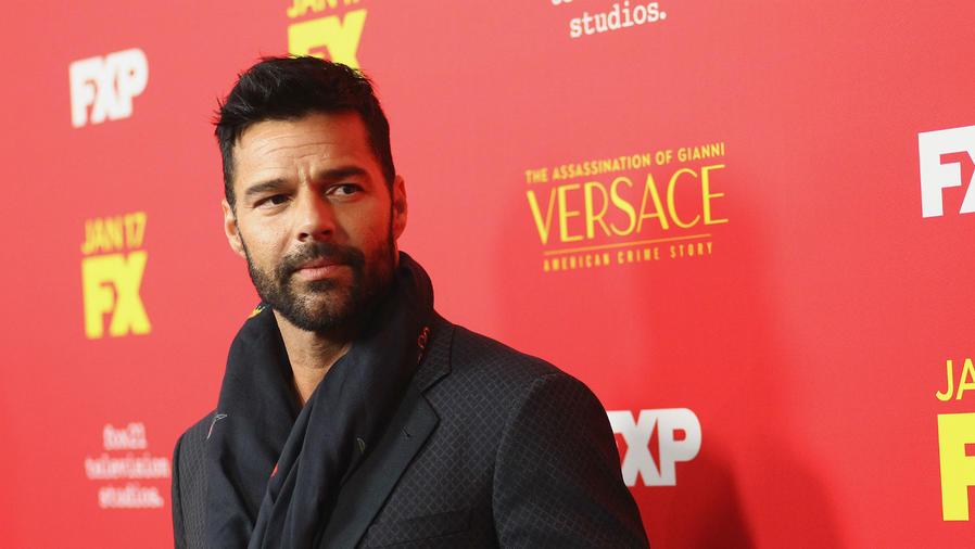 Ricky Martin, enero 2018