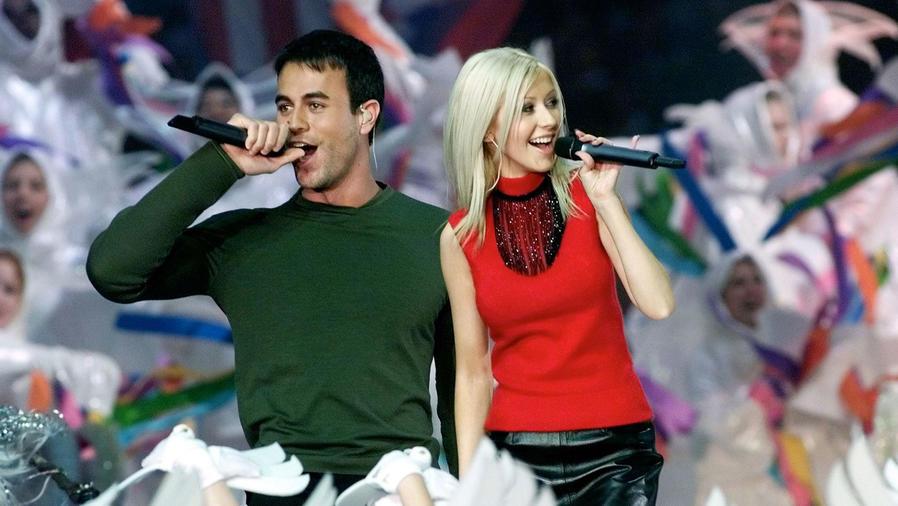 Christina Aguilera y Enrique Iglesias