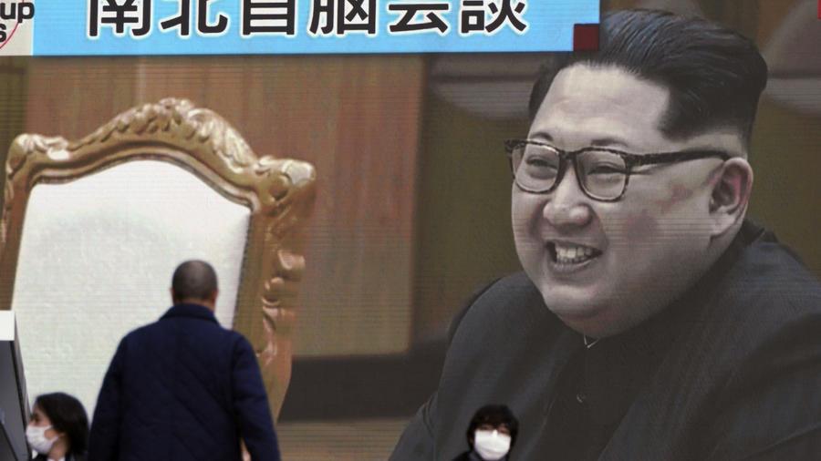 Kim Jong Un, en una imagen televisiva en Tokyo este miércoles.