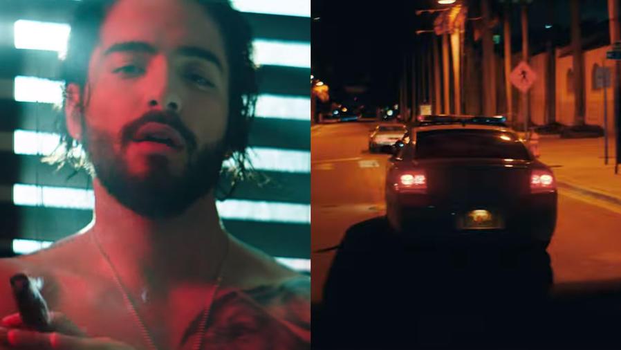 """Maluma en el video de """"El préstamo"""""""