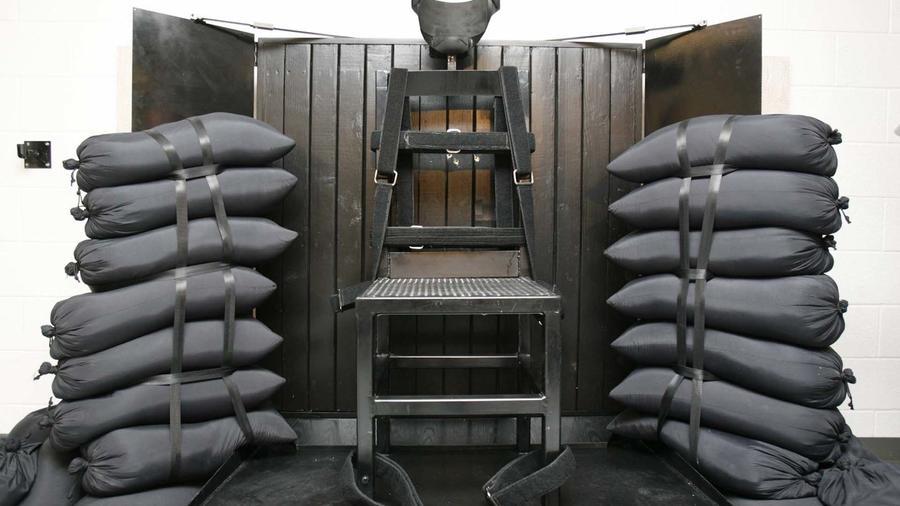 Cámara de ejecución por fusilamiento en Utah, en una imagen de 2010.