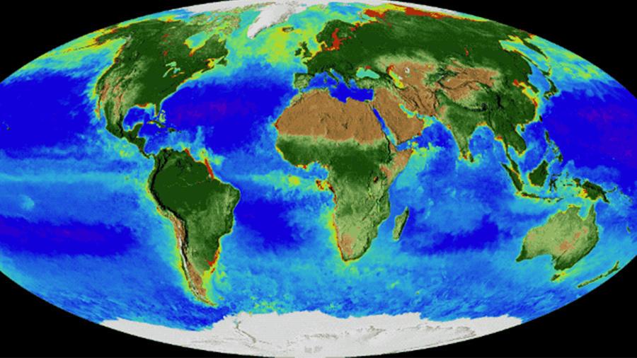 Planeta Tierra visto por la NASA