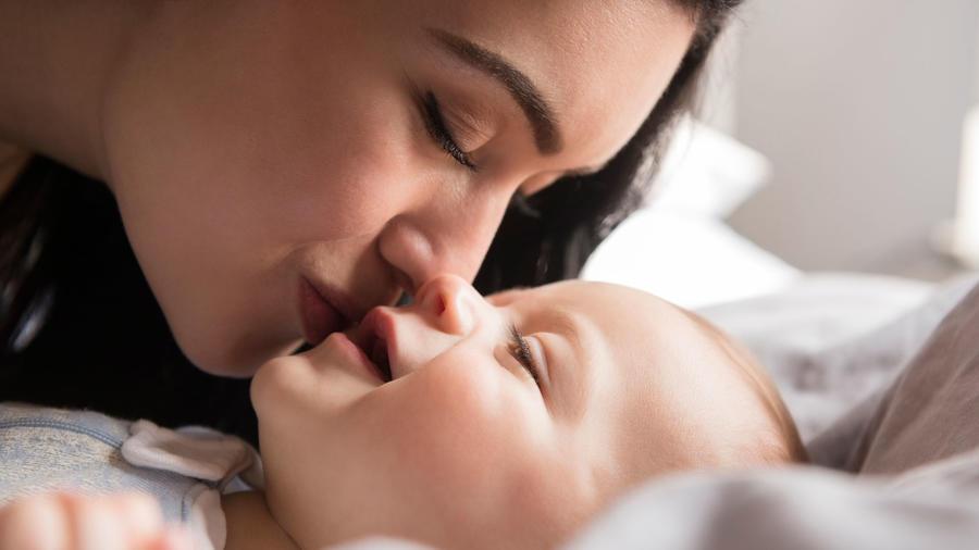 Beso bebé