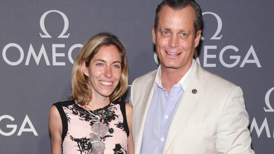 Matthew Mellon, con su ex esposa Nicole, en junio de 2014 en Nueva York.