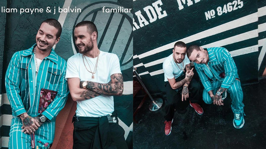Liam Payne and J Balvin