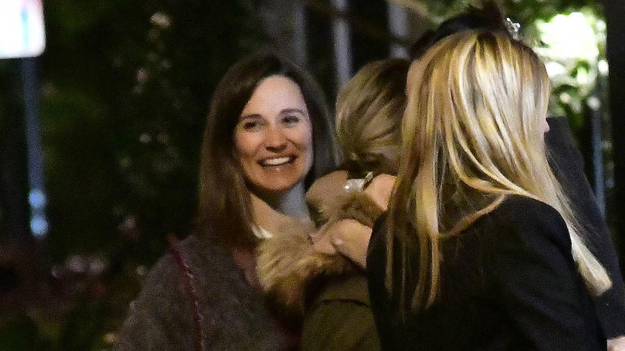 Philippa Middleton sonriendo