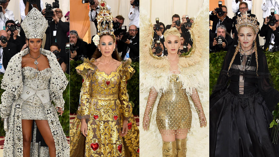 Looks extravagantes Met Gala 2018
