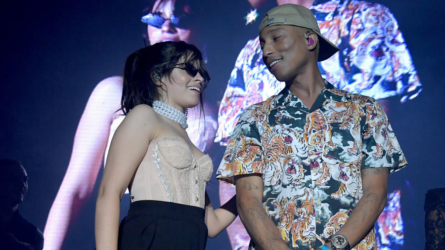 Camila Cabello and Pharrell