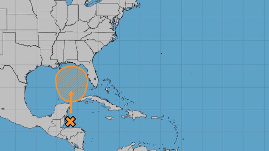 Una tormenta tropical puede formarse en las próximas horas en el Golfo de México.