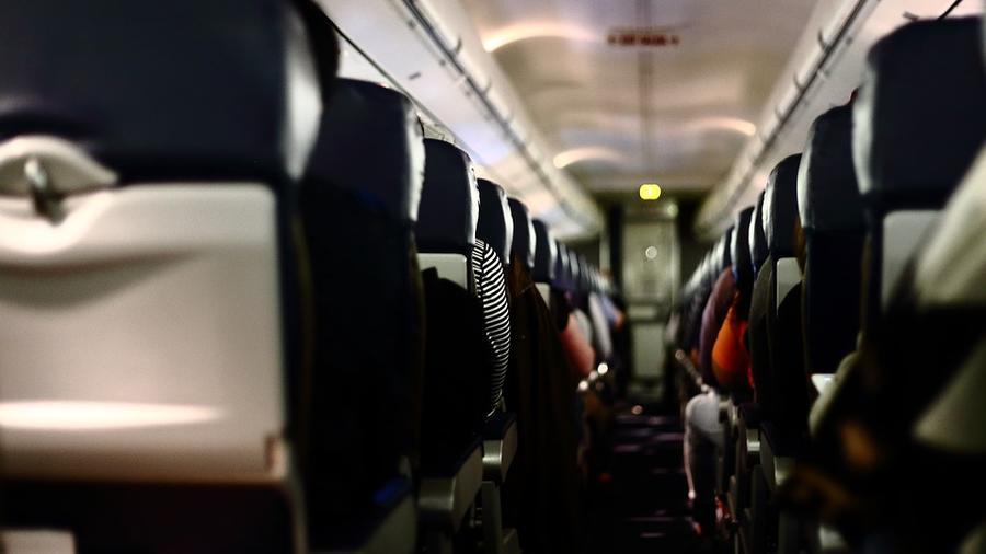 passageway of a plane
