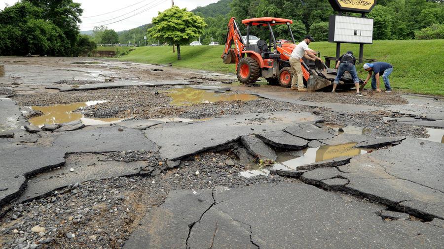 Cortes de carreteras en Virginia por las tormentas en Virginia