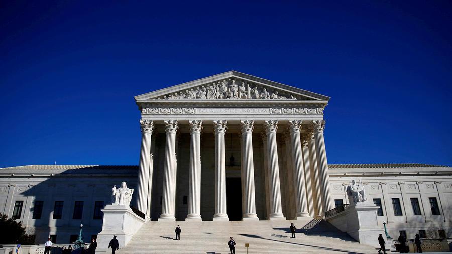 Imagen de la sede de la Corte Suprema en Washington DC.