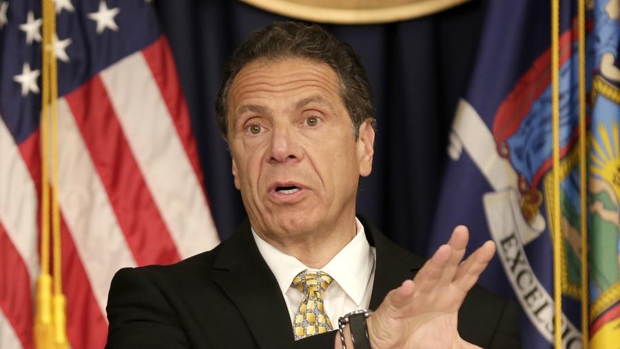 Andrew Cuomo, gobernador de Nueva York.