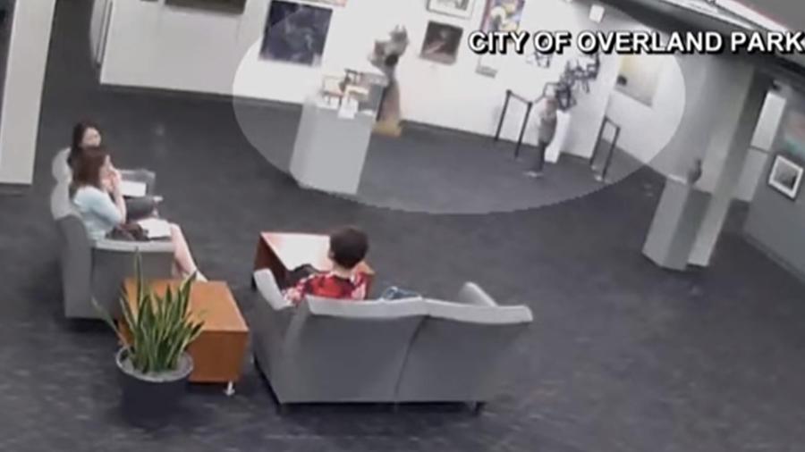 Accidente en el museo