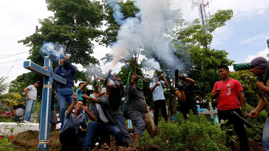 Protestas en Nicaragua contra el gobierno de Daniel Ortega