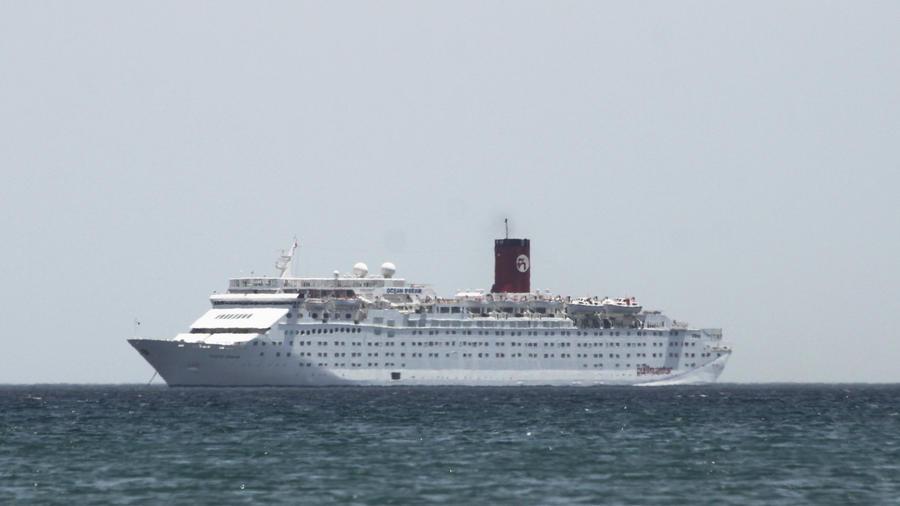 Imagen de archivo de un crucero.