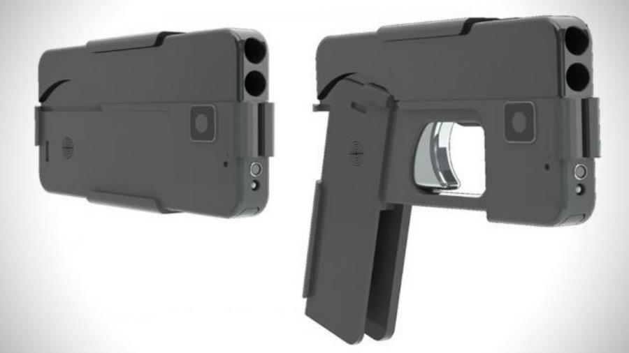 pistola celular