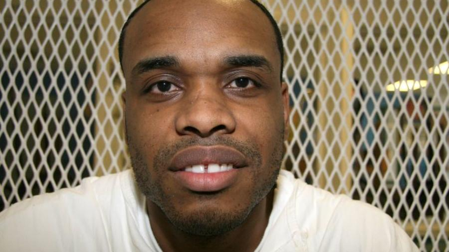 El condenado a muerte por asesinato, Christopher Young, el pasado junio en la Unidad Polunsky del Departamento de Justicia Criminal de Texas.