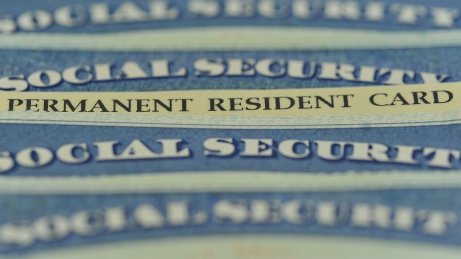 Green card, tarjeta de residencia permanente