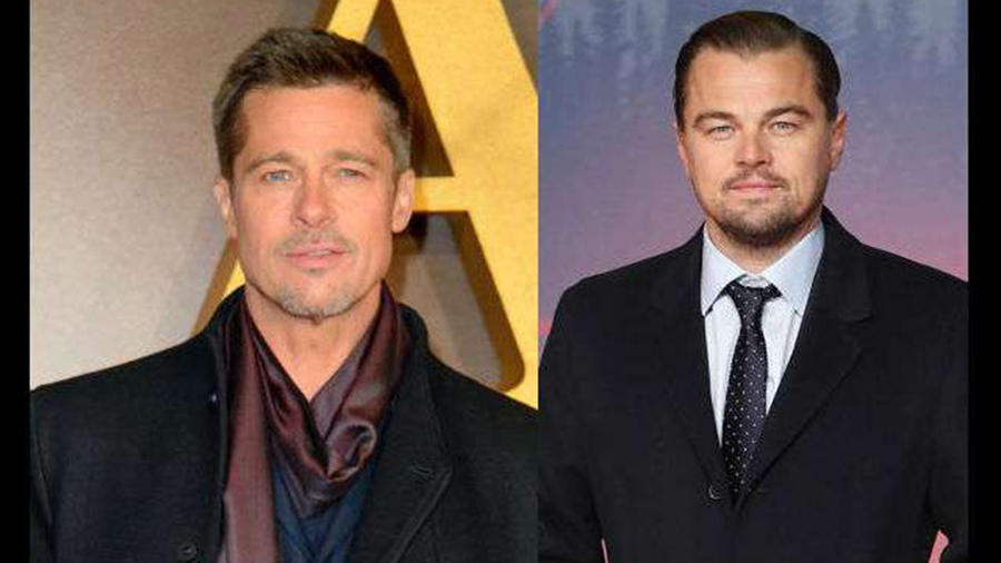 Brad Pitt y Leo Dicaprio