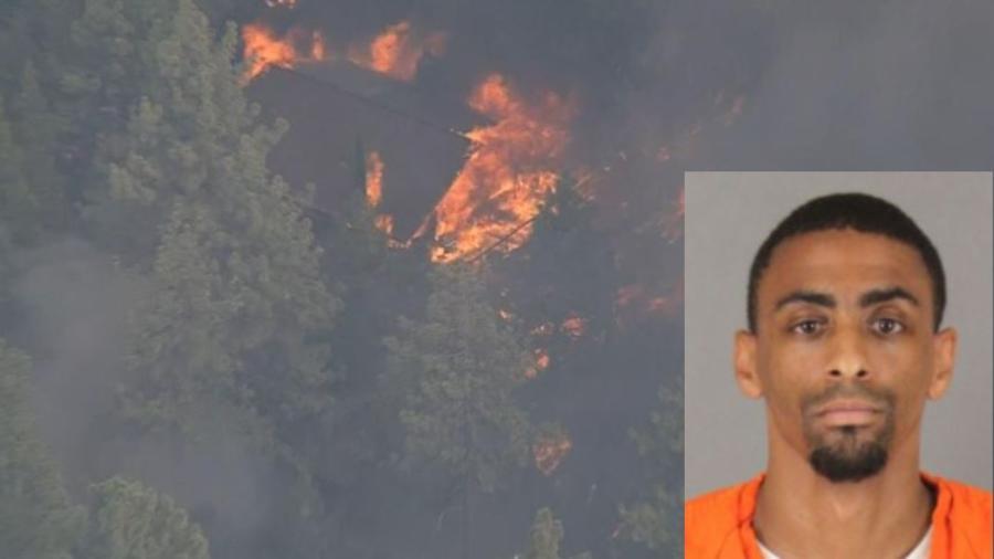 Detenido sospechoso de incendio en Bosque Nacional de San Bernardino.