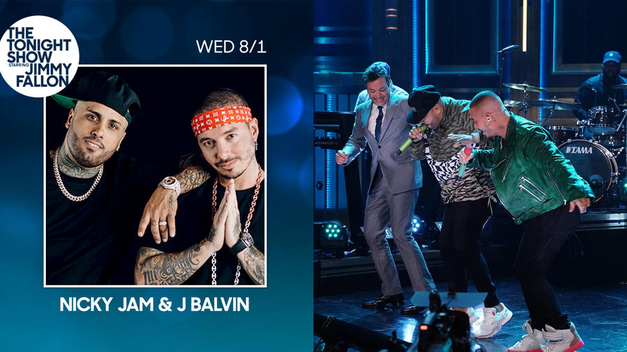 Nicky Jam and J Balvin