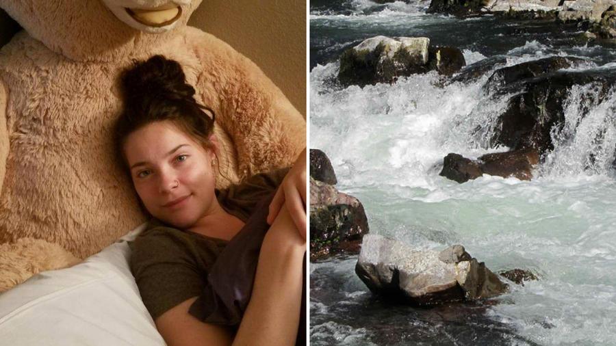 La joven  Jordan Holgerson (izquierda) fue aventada por su amiga Taylor Smith desde un puente de 60 pies de altura. Sus familiares creen que no está arrepentida.
