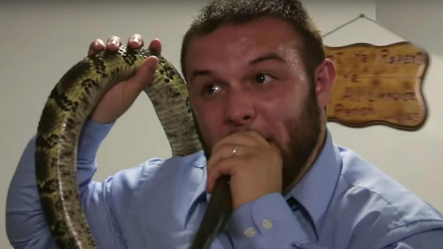 Pastor y serpiente