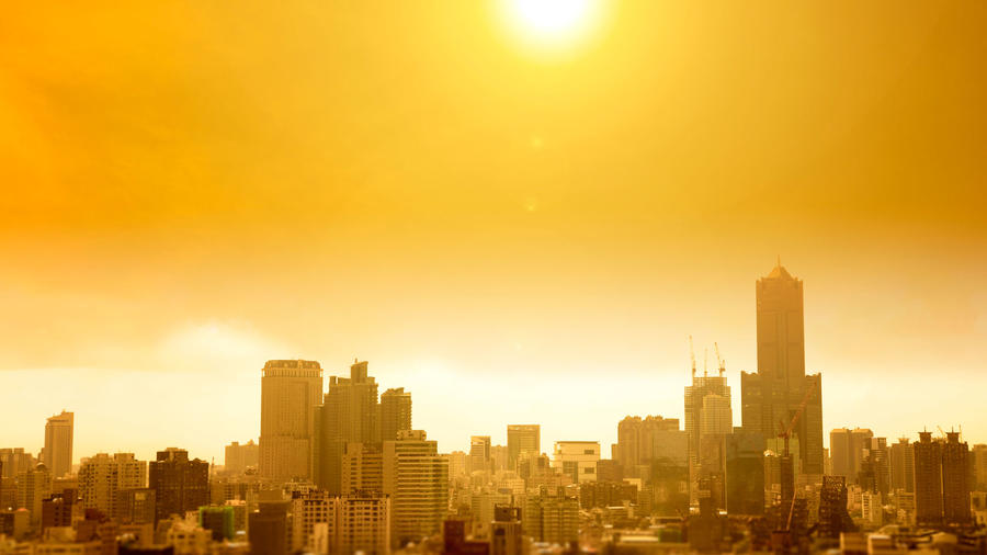 Ciudad calurosa