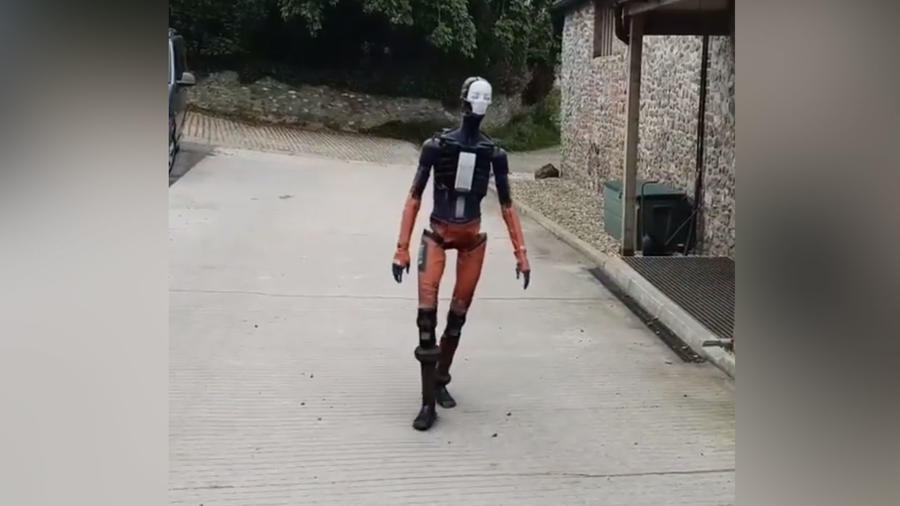 Robot realista