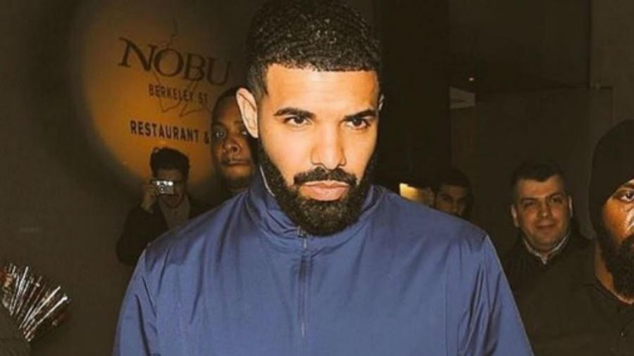 Drake chamarra azul