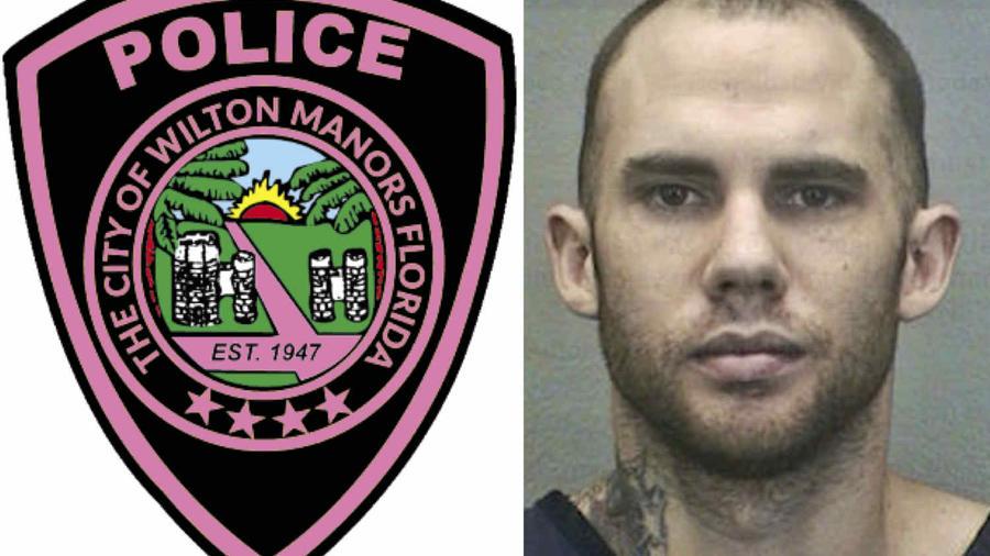 Peter Avsenew, detenido por la policía de Wilton Manors.