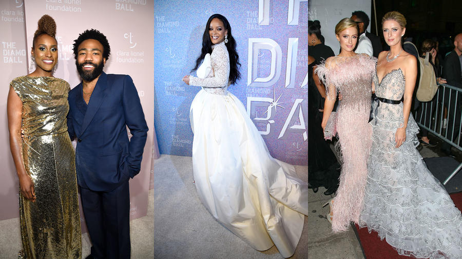 Rihanna's Diamond Ball 2018