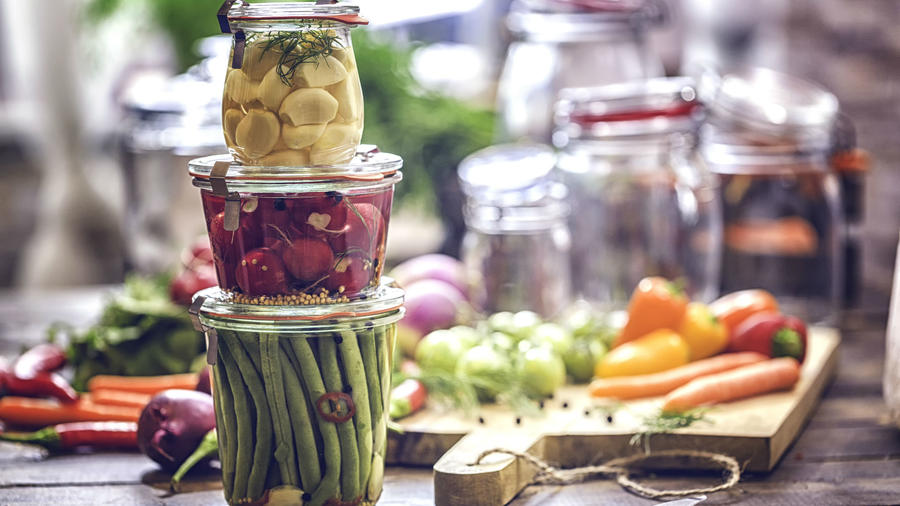 Recipientes para almacenar alimentos