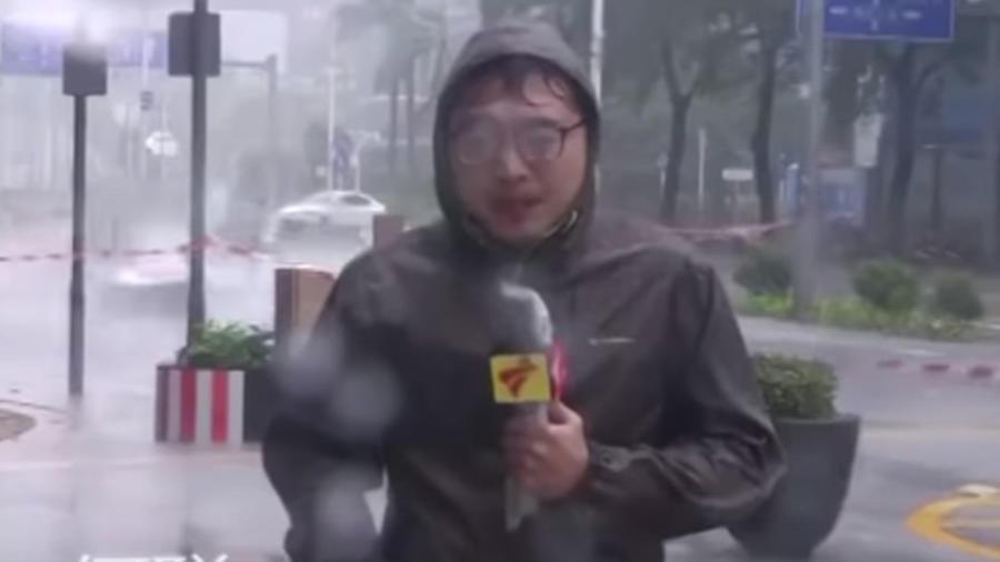Reportero tifón