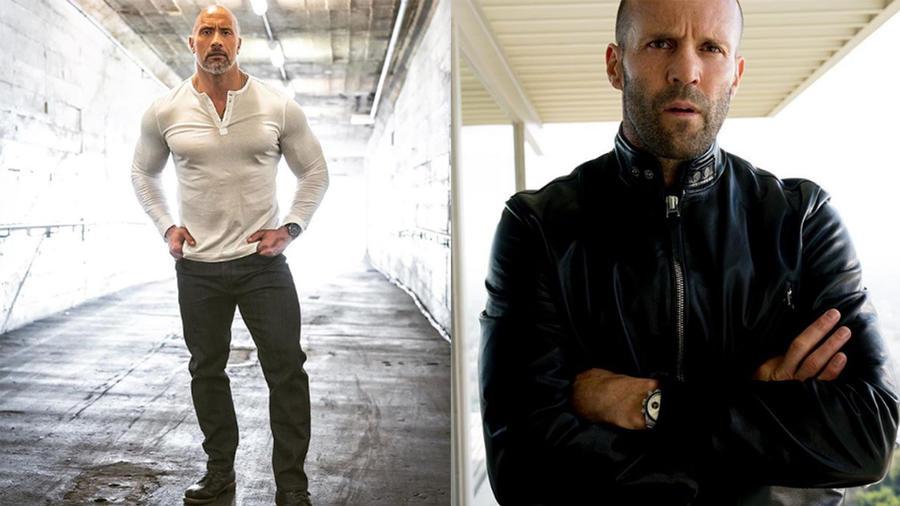 The Rock and Jason Statham