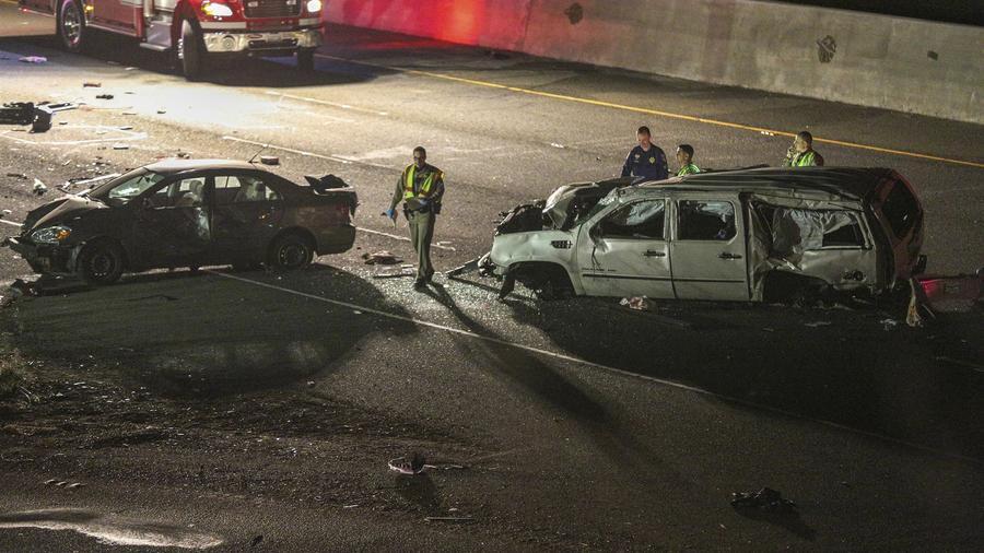 Accidente en Freemont, San Francisco, con múltiples víctimas. La policía dice que el conductor estaba bajo el efecto de la marihuana