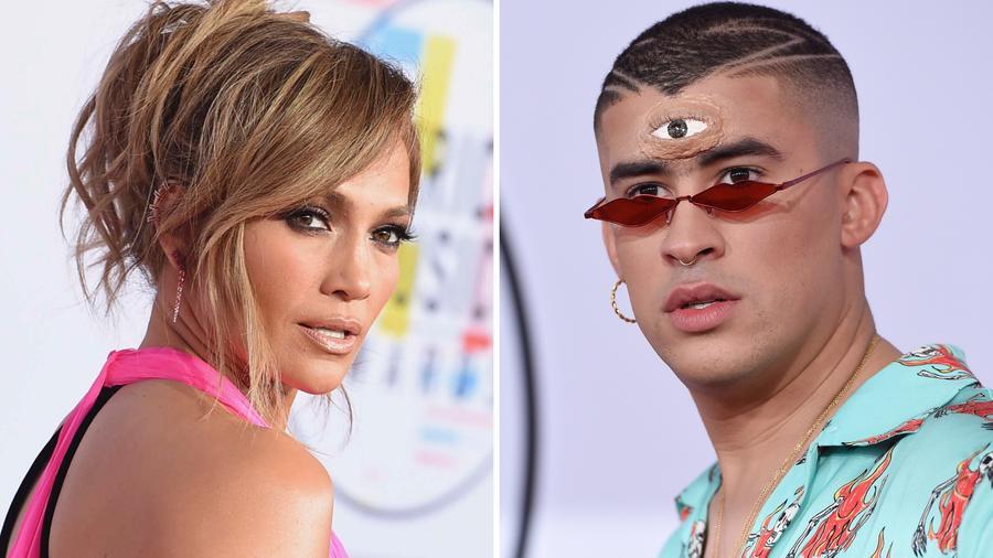Jennifer Lopez y Bad Bunny