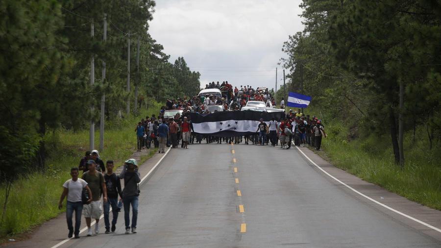 Frontera entre Honduras y Guatemala en una imagen de archivo