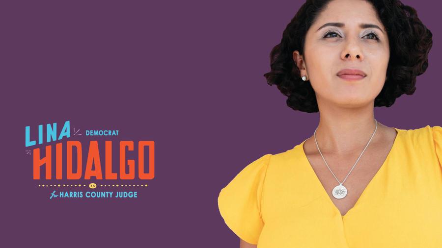 Página de campaña de Lina Hidalgo.