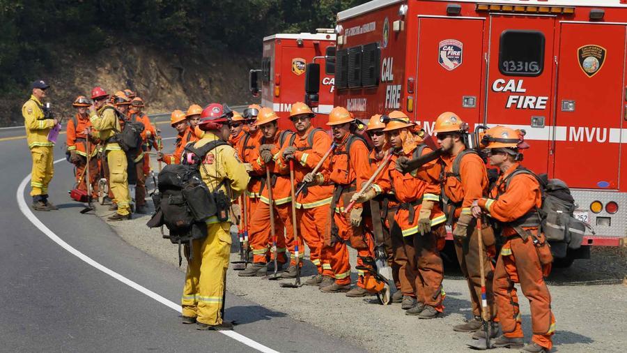 Por el Prado Conservation Camp, han pasado miles de presos que se han entrenado y servido como bomberos en el combate a los incendios en California.